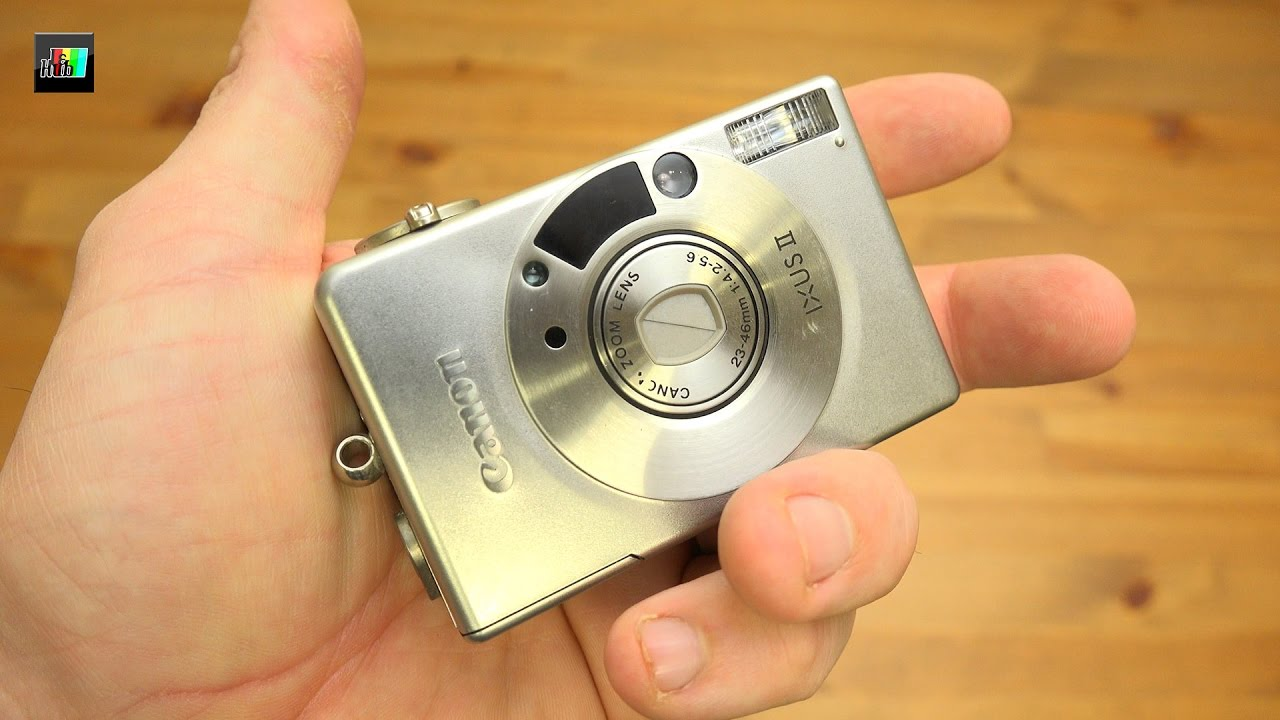 fb9b5d34e53 Canon Ixus II - Advanced Photo System - YouTube