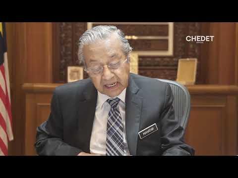 Pesanan ringkas Dr Mahathir ke...