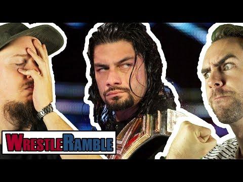 Why Roman Reigns Should Turn HEEL (Broken Record Edition)! WWE Raw, Apr. 23, 2018 | WrestleRamble