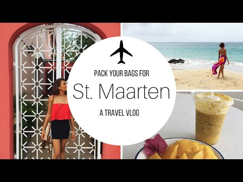 A Week in PARADISE | St. Maarten / St. Martin Travel Vlog 2016