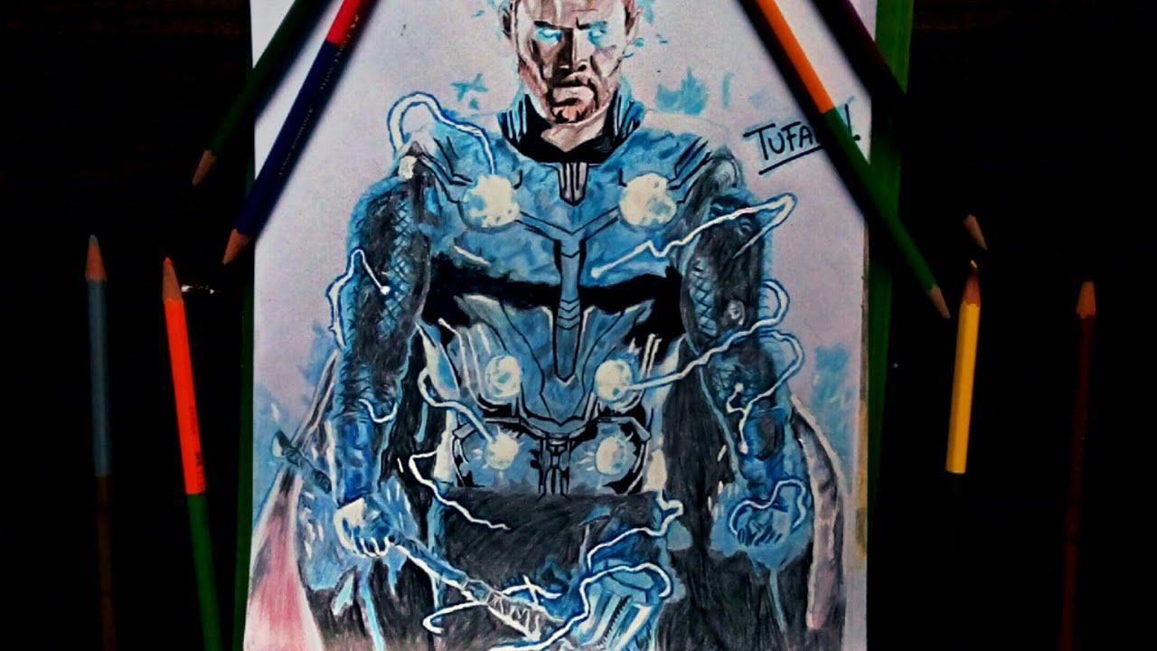 Pencil Thor Stormbreaker Drawing Bestpencildrawing