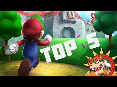 Top 5 Los Mejores Juegos De Mario Bros