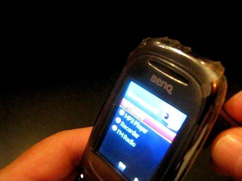 BenQ t33 Camera, Bluetooth, MP3, Web, FM Radio Phone