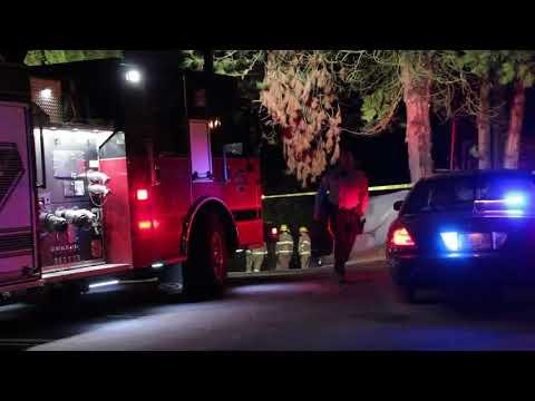Raw: Police attend homicide scene in Coquitlam