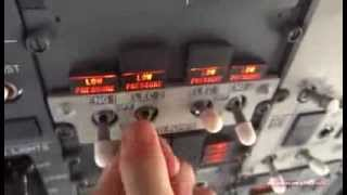 Comment démarrer un Boeing 737 ? // How to turn on a Boeing 737 ?