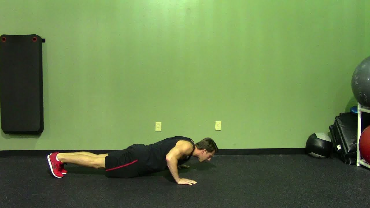 HASfit Push Up Exercise Demonstration