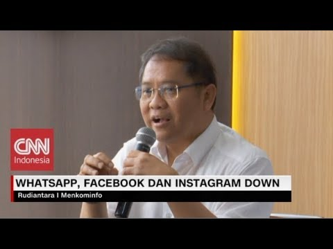Alasan Whatsapp & Instagram Down, Ini Kata Menkominfo