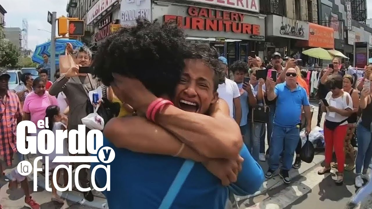 El emotivo reencuentro de Susy Pérez, exbailarina de JLo que vive en la calle, con su hijo | GYF