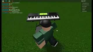 My All Stars Roblox Skills on Piano In Roblox (ROBLOX PIANO)