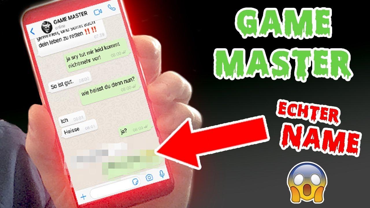 game master seine nummer