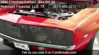 1968 Chevrolet Camaro  for sale in Headquarters in Plano, TX