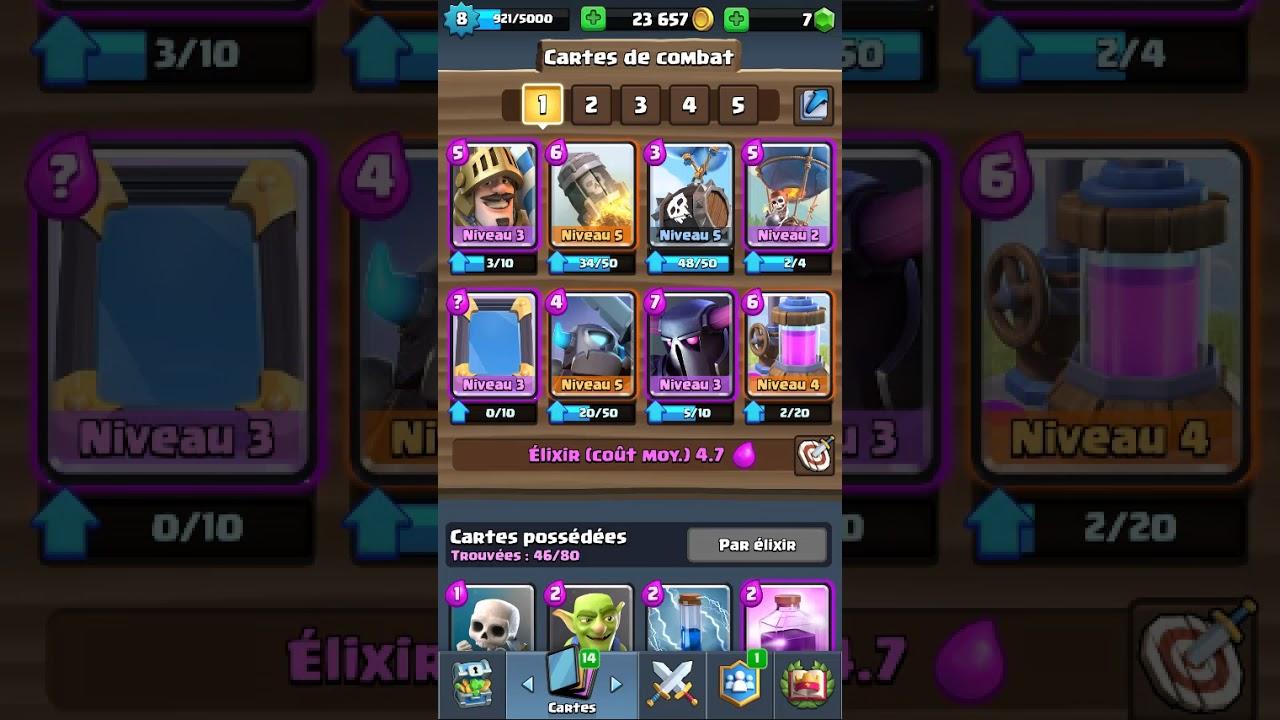 Clash royal le meilleur deck de arene 6 youtube for Meilleur deck arene 4