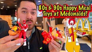 Retro 80s & 90s McDonalds Happy Meal Toys Unboxing!