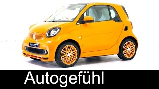 All-new smart fortwo Brabus tailor made 2016/2015 exterior & interior - Autogefühl