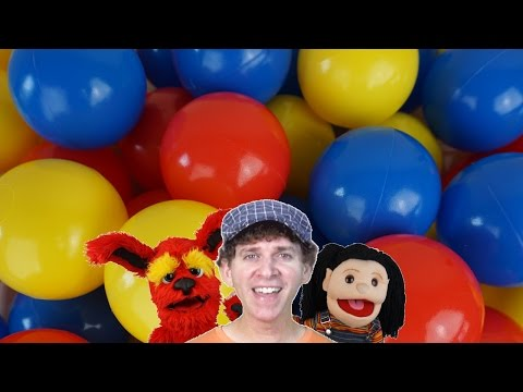 Thumbnail: Color Ball Counting Song | Find Colors and Count | Learn English Kids