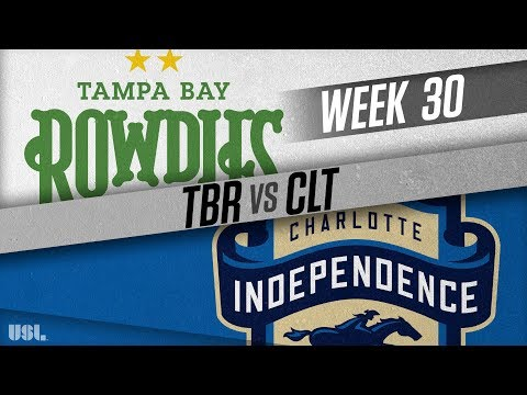 Tampa Bay Rowdies vs Charlotte Independence: October 6, 2018