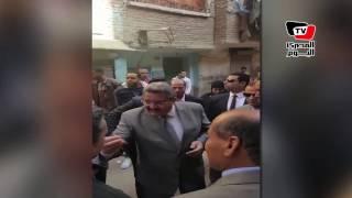 «العراقي» موبخاً أحد أصحاب محلات اللحوم: «حرام عليكم صحة الناس»