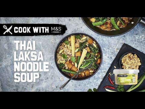 M&S   Cook with M&S... Thai Laksa Noodle Soup