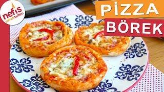 Pizza Börek Tarifi - Yufka ile lezzetli bir börek