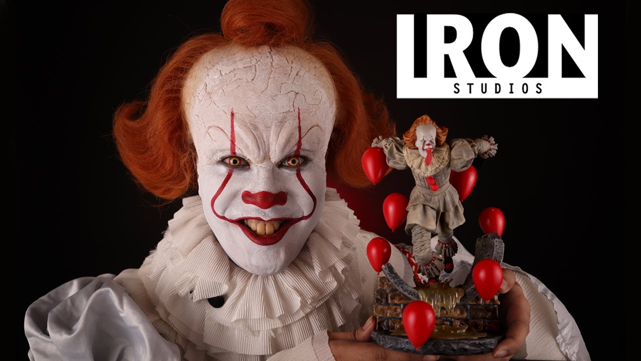 Unboxing One of my Favorite Pennywise Action Figures! Iron Studios Pennywise Deluxe Art Scale 1/10