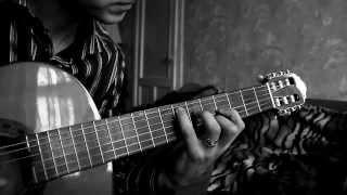 Zucchero -- Baila morena (Acoustic Fingerstyle guitar a video lesson Bar_u_lin)
