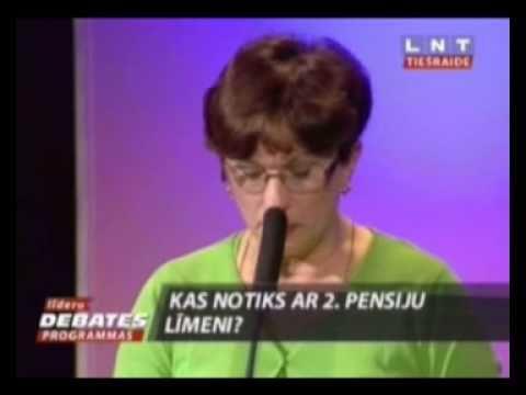 Sandra Kalniete: Sociālajā budžetā ir milzīgs iztrūkums