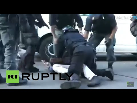 Italy: Police forcibly evict migrants stranded at French-Italian border