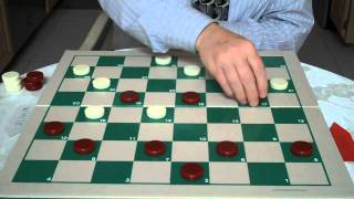 THE DOUBLE CORNER MASTER OPENING...CHECKERS AND DRAUGHTS
