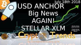 XLM Stellar -First USD Anchor IBM backed