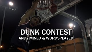 Andy Mineo & Wordsplayed - Dunk Contest Freestyle Dance | @REVtheServant @Jy_Wright
