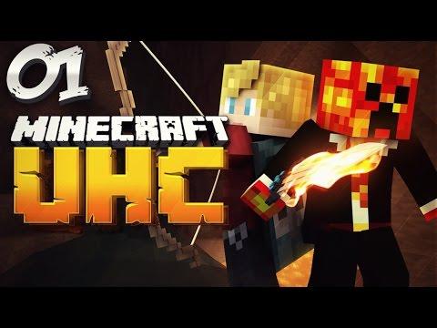 Minecraft YOUTUBER DOUBLE HEALTH UHC - #1 (Ultra Hard Core) w/PrestonPlayz & Lachlan