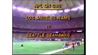 1979-11-04 Los Angeles Rams vs Seattle Seahawks(Seattle held to -7 yards)
