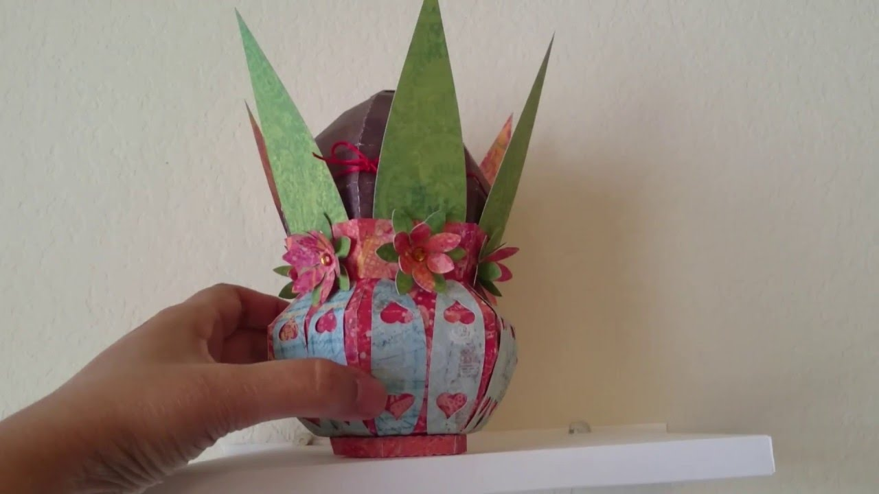 how to make kalash with paper