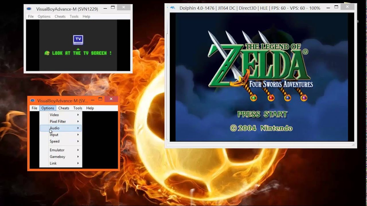 Visual Boy Advance-M & Dolphin Emulator Linking | GBAtemp
