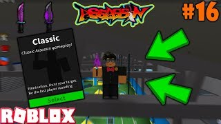 ROBLOX | ASSASSIN: CLASSIC #16 (KITTY WITH PURPLE FLAMES GAMEPLAY)