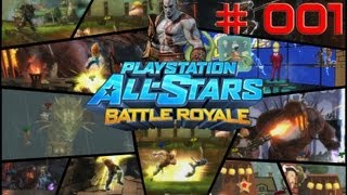 Let's Play PlayStation All Stars Battle Royale [Online] - Part 1 - Wollt ihr das?
