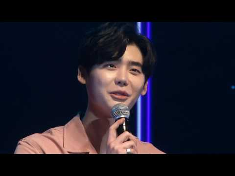 Lee Jong Suk Fanmeeting in Thailand 2017