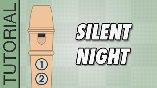 Silent Night - Recorder Notes Tutorial