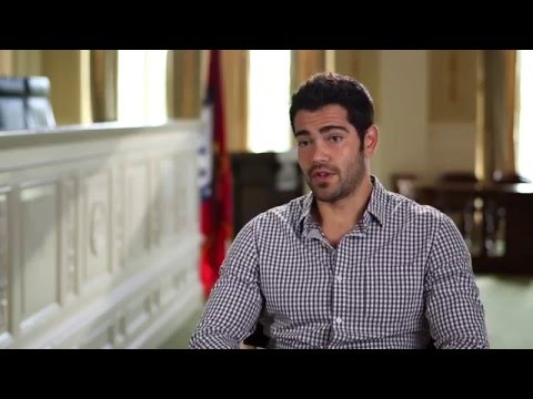 "God's Not Dead 2: Jesse Metcalfe ""Tom Endler"" Behind the Scenes Movie Interview"