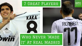7 Great Players Who Never Made It at Real Madrid