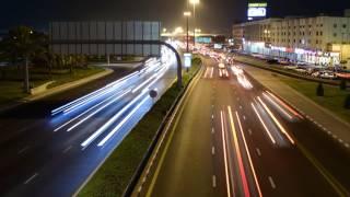 Dubai Night Timelapse (4k)