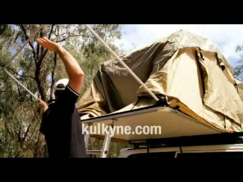 Roof Tents - Kukyne 4WD Roof Top Tent & Roof Tents - Kukyne 4WD Roof Top Tent - YouTube
