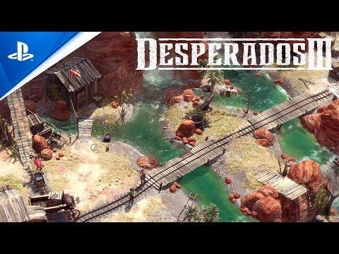 Desperados Iii Launch Trailer Ps4 Youtube