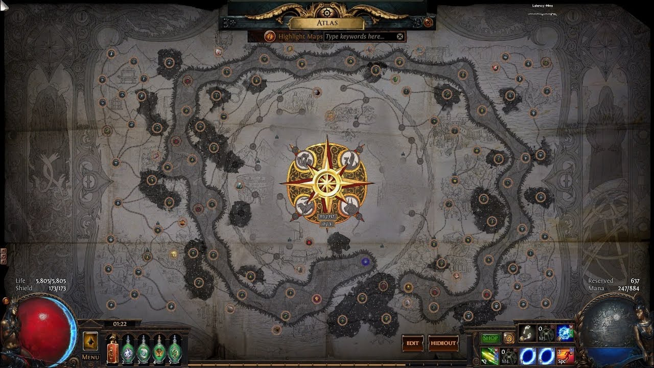 Array - guide to permanent elder influence on all of your shaped red maps  rh   youtube com