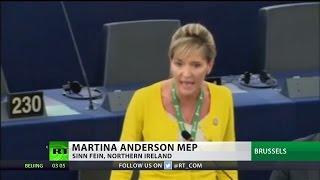 "MEP tells May to stick Irish border ""where sun doesn"
