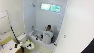 Bath Fitter Installation - Time Lapse