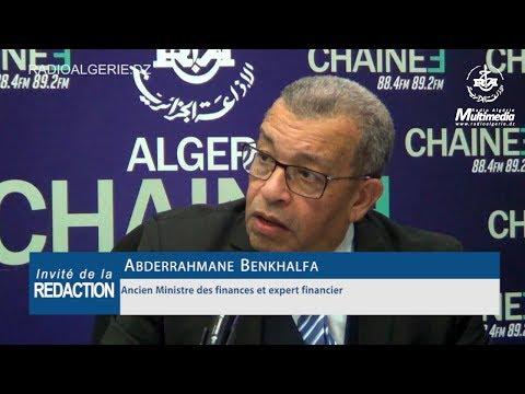 Abderrahmane Benkhalfa Ancien Ministre des finances et expert financier