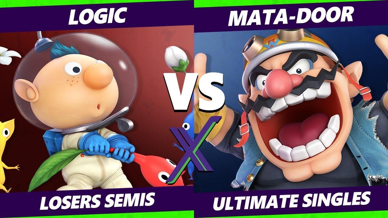 Smash Ultimate Tournament - Logic (Wolf) Vs. Mata-Door (Wario) - S@X 289 SSBU Losers Semis
