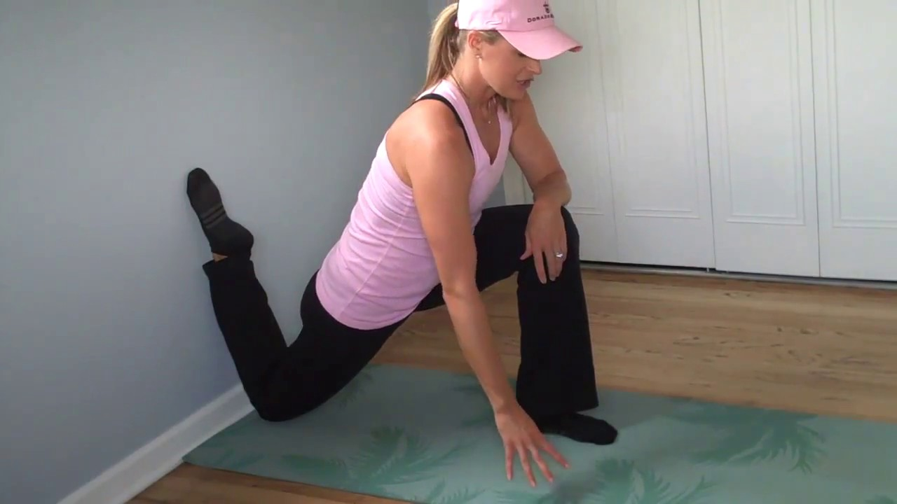 Image result for stretch psoas wall