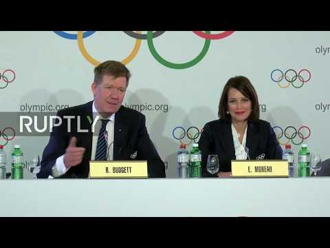 LIVE: IOC decides on Russia's participation in 2018 Winter Olympics: press briefing